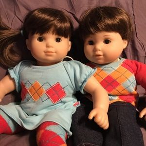 Bitty Baby Brunette Twins (retired)